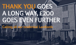 £200 residential Landlords offer
