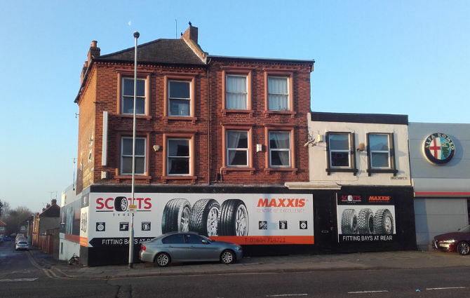 Commercial premises sold
